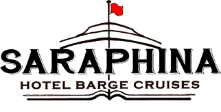 The Barge Saraphina Logo