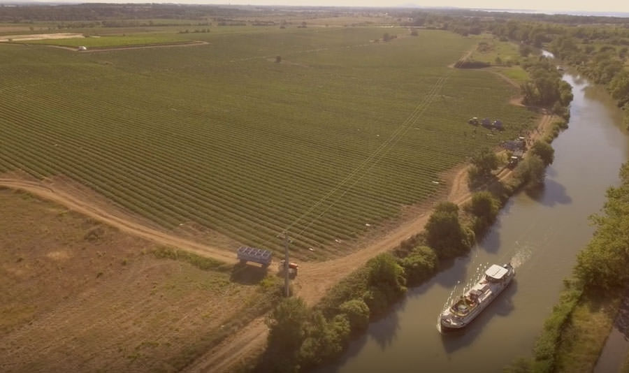 Saraphina Barge, Canal du Midi Video